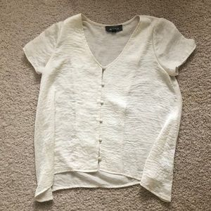 Button town textured top